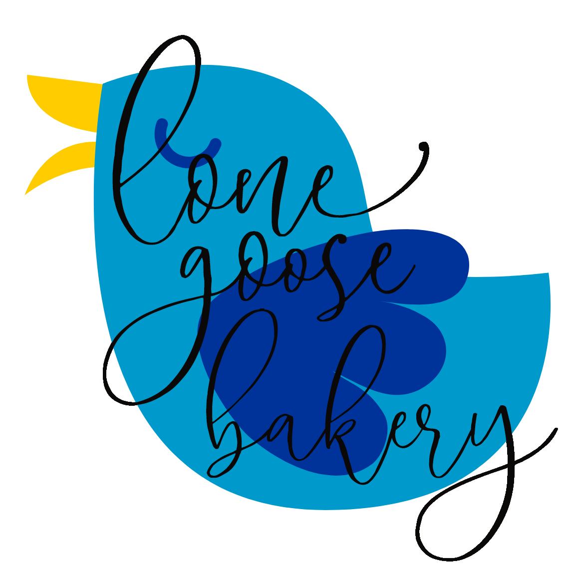 Lone Goose Bakery blue bird