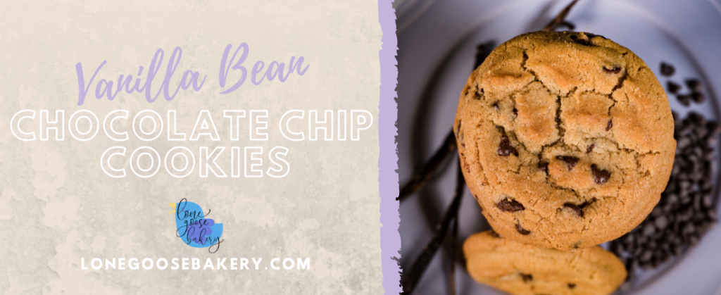 Chocolate chip cookie banner