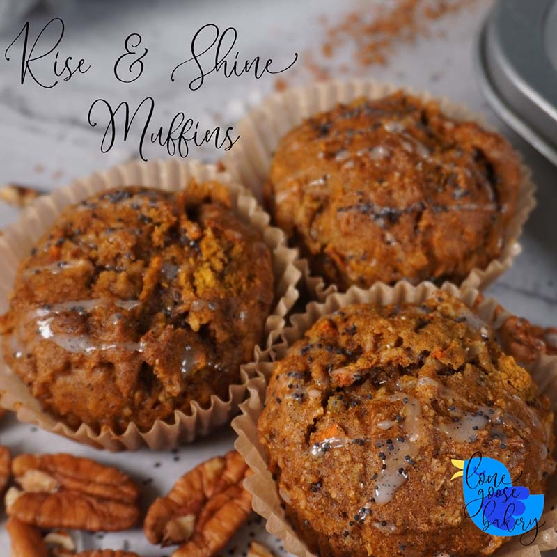 thumbnail for the poppy-seed rise and shine muffin recipe