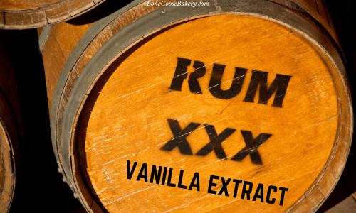rum vanilla bean extract