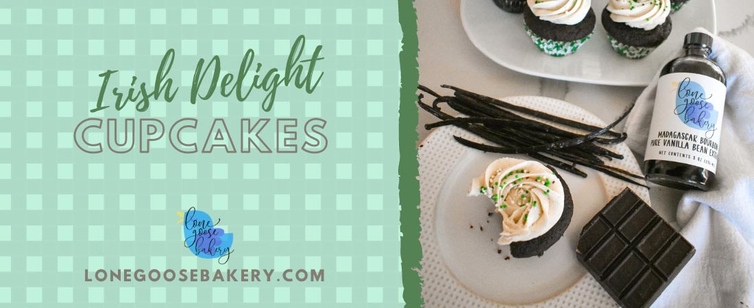 Irish Delight Cupcakes Banner